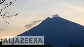 Indonesia orders thousands to evacuate Bali over fears of volcanic eruption - ALJAZEERAENGLISH