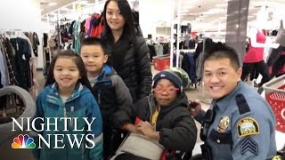 'Shop With Cops' Program Pairs Children And Police Officers For Holiday Shopping | NBC Nightly News - NBCNEWS