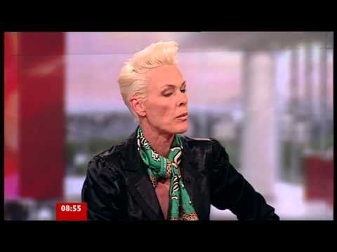 BBC Breakfast Sian & Bill - An interview with Brigitte Nielsen - 2011