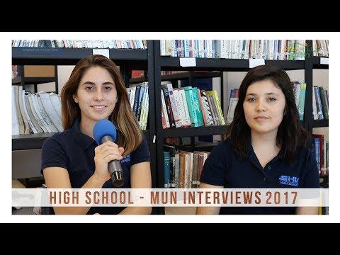 High School MUN Interviews 2017
