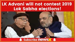 Lok Sabha Elections 2019: LK Advani Not To Contest polls, Writes To BJP President Amit Shah - NEWSXLIVE