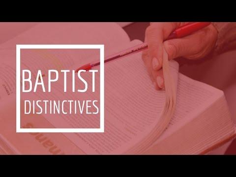 (16) Baptist Distinctives - Church Ordinances / Baptism / Church Officers The Pastor