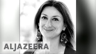 Malta journalists unite after Caruana Galizia murder - ALJAZEERAENGLISH