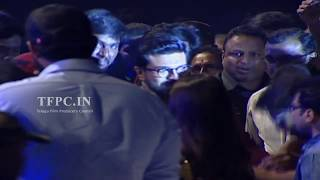 Megha Power Star Ram Charan Entry At Antariksham 9000 KMPH Pre Release Event | TFPC - TFPC