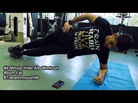 4 minute killer abs workout