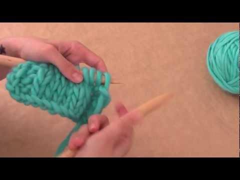 Aprende a tejer: ¿Cómo tejer ochos?