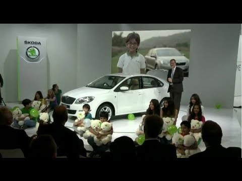 SKODA Auto India - New Delhi Auto Expo 2012 Press Conference - Part 2