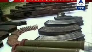 Huge cache of weapons discovered in Kupwara, Jammu - ABPNEWSTV