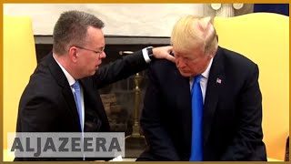 🇺🇸 Trump hosts freed US pastor Brunson at White House | Al Jazeera English - ALJAZEERAENGLISH