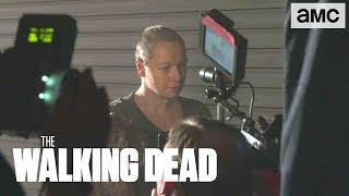 (SPOILERS) 'Alpha's Origin Story' Making of Ep. 910 BTS   The Walking Dead - AMC