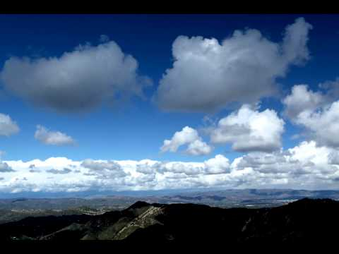 1080p Time Lapse - Clouds in Mountains near Malibu CA - JohnBrody.com