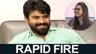 Niharika Rapid Fire With Ram Charan | Super Fun | TFPC - TFPC