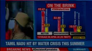 Tamil Nadu hit by water crisis; political play over Cauvery water management formation - NEWSXLIVE