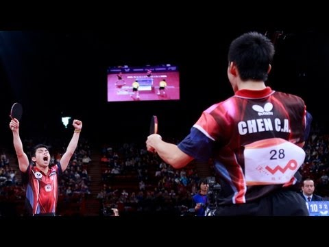 WTTC 2013 Highlights: Ma Lin/Hao Shuai vs Chuang Chih-Yuan/Chen Chien-An (Final)
