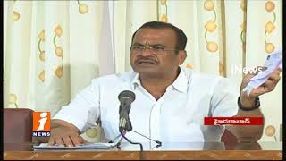 Congress Komatireddy Venkat Reddy Comments On TRS Govt Over Health Departments Jobs Issues | iNews - INEWS