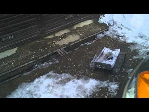 #20 Homemade RC tracked vehicle ( UGV ) - #2 In the snow- J.Laci