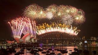 أستراليا تستقبل 2015 بالاحتفالات الصاخبة