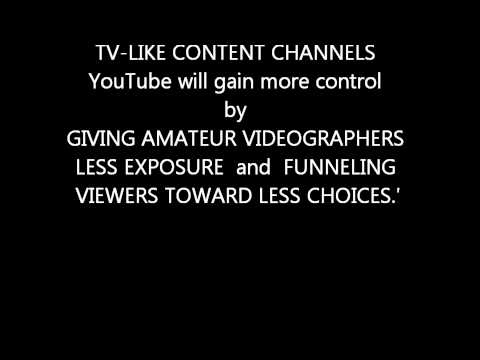 Why Google control freaks at YOU TUBE HQ want GREYTUBE study more info section March 7th 2012