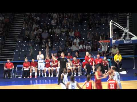 Great Britain v Belgium - EuroBasket Women qualifier, 8th June 2014