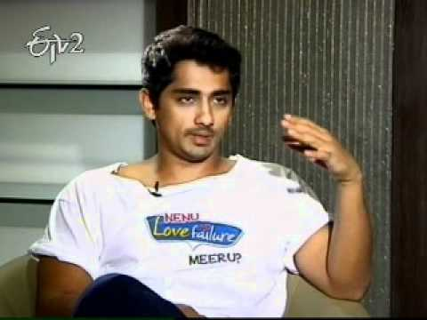 A Chit Chat with Hero Siddharth on Love Failure movie Part 1