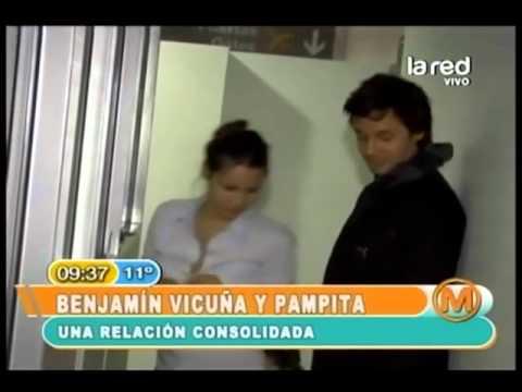 La historia de amor de Pampita y Benjamín