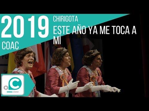 La agrupación Este año ya me toca a mi llega al COAC 2019 en la modalidad de Chirigotas. En años anteriores (2018) concursaron en el Teatro Falla como Este año nos veréis en el altar, consiguiendo una clasificación en el concurso de Semifinales.