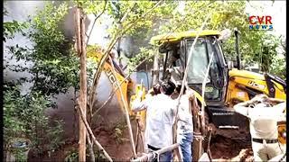 Blaze Mishap In Automobile Showroom | Srikakulam Dist | CVR News - CVRNEWSOFFICIAL