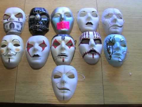 Youtube download : Modified Blank Masks And More! (Slipknot, Hollywood Undead)