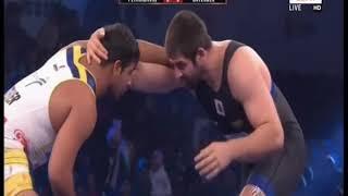 PWL 3 Day 14: Satender Malik VS Geno at Pro Wrestling League season 3 |Highlights - NEWSXLIVE