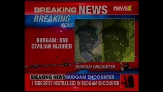 Budgam encounter: 1 terrorist killed by security forces in Arizal village of J&K; 1 civilian injured - NEWSXLIVE