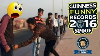 Guinness World Records Ultimate Comedy Spoof | TRY NOT TO LAUGH CHALLENGE | Chennai Bad Brothers