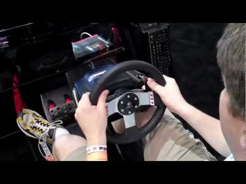 CGR E3 2011 Adventure Pt46: Playseat driving seats for racing games