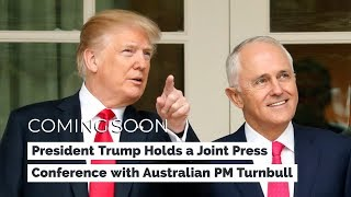 President Trump Holds a Joint Press Conference with Australian Prime Minister Turnbull - VOAVIDEO