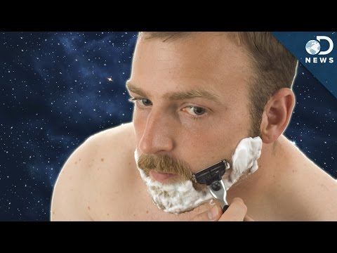 How Do Astronauts Shave In Space?