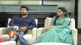 Special Chit Chat With Jr NTR And Niveda Thomas | Jai Lava Kusa Movie | iNews - INEWS