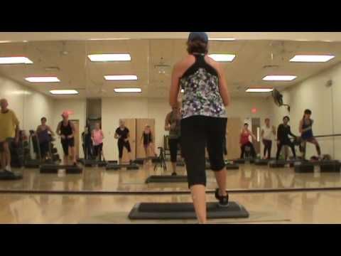 Basic Step Aerobics Cardio Class