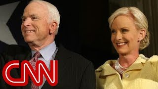 Cindy McCain posts stranger's hateful message about her late husband - CNN