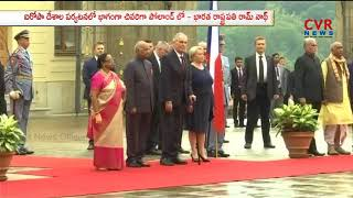 President Ram Nath Kovind in Poland | Ram Nath Kovind Europe tour | CVR NEWS - CVRNEWSOFFICIAL