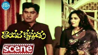 Tandava Krishnudu Movie Scenes - Jayaprada Emotional On ANR || Rajendra Prasad - IDREAMMOVIES