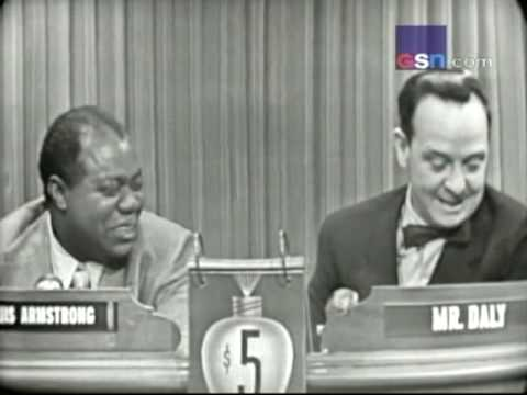 "Louis Armstrong on ""What's My Line?"""