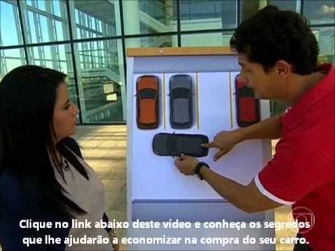 Auto Esporte Globo 21/07/2013 - Aprenda como fazer uma baliza perfeita