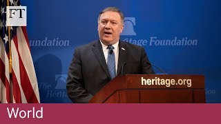 "US Iran demands point to ""regime change by back door"" - FINANCIALTIMESVIDEOS"