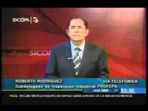 Entrevista al Subdelegado de inspección Industrial de la PROFEPA