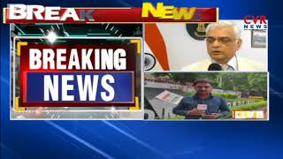 Telangana Chief Electoral Officer Rajat Kumar Meets CEC Over Telangana Early Elections | CVR NEWS - CVRNEWSOFFICIAL