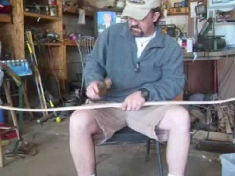 Traditional Archery Bow Making  The Bottle Technique to Prevent Breakage
