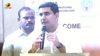 AP IT Minister NARA LOKESH About Industrial Revolutions | Mango News - MANGONEWS