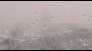 Live: Snow falls in Washington - VOAVIDEO