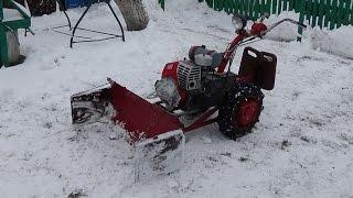 Снегоуборщик из отвала (по-быстрому)!!!