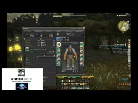 Final Fantasy XIV - Mining Umbral First Time [HD]