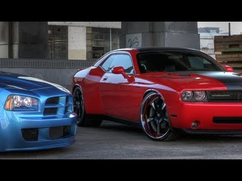 2010 Dodge Challenger vs Charger
